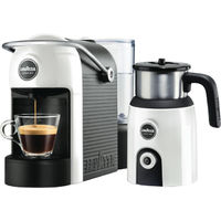 A MODO MIO JOLIE COFFEE MACHINE AND MILKUP
